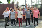 Pilkada Lombok Tengah, Komunitas Senam Zumba Dukung Paslon Wayent Wah