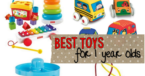 Recommended Toys For 1 Year Old