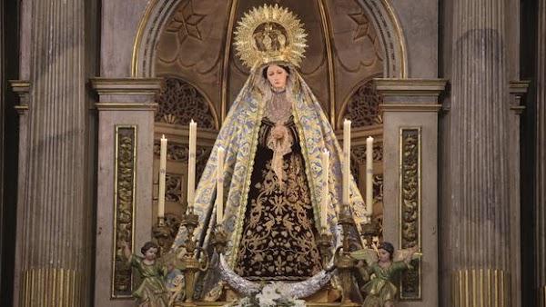 Columna de Cádiz presenta el proyecto de restauración de su Virgen