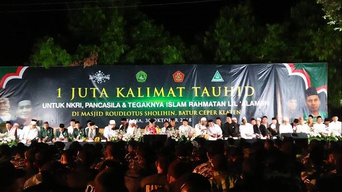 Satu Juta Tauhid untuk Indonesia Menggema di Klaten