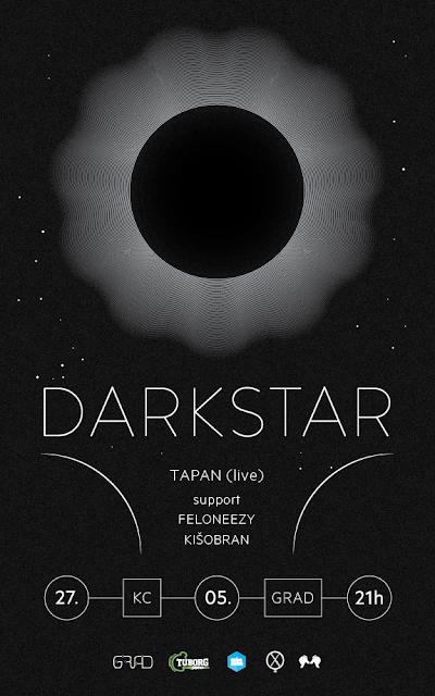 Koncert engleskog sastava Darkstar