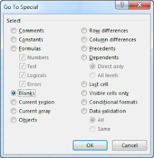 delete rows excel sheets