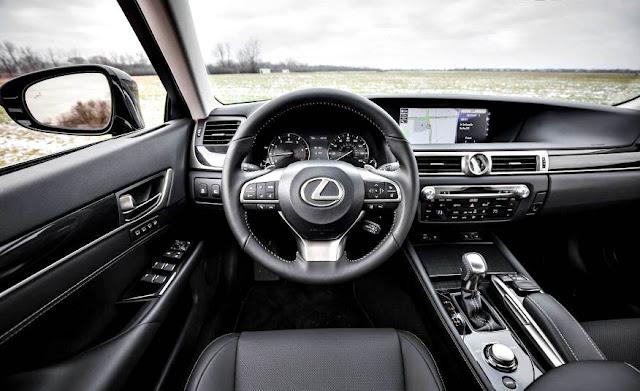 Lexus GS200t 2017 interior