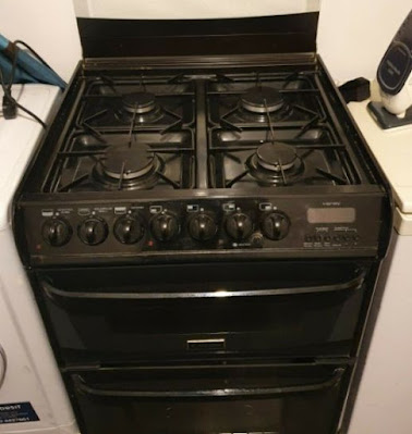 Cannon Carrick Double Oven Gas Cooker