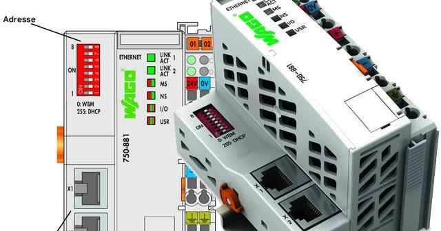 The WAGO-I/O-SYSTEM ETHERNET Controller designed for