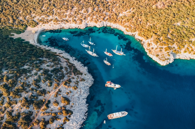 Türkiye'nin en güzel mavi tur noktaları belli oldu