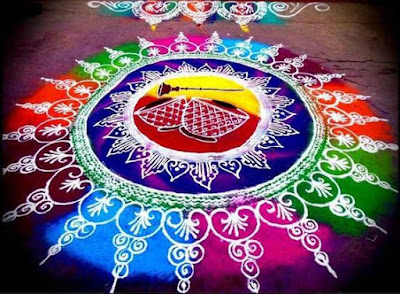Simple and Easy Rangoli Design Images for New Year