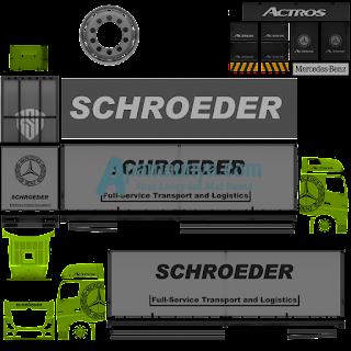 Download Livery Truck Actors Green Roda 10