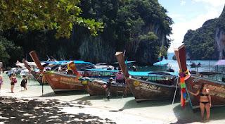 Excursión a la Isla de Hong o Koh Hong. Lading Island.