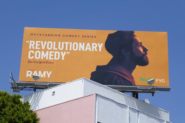 Ramy season 1 Hulu Emmy FYC billboard