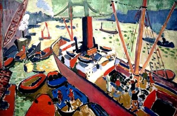pinturas de londres - André Derain e suas principais pinturas ~ (Fauvismo) Francês
