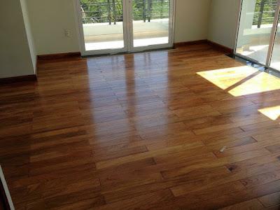 Sàn gỗ Giáng Hương kêu, cong vênh co ngót -  Cách xử lý