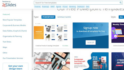 situs download template ppt gratis 24slide
