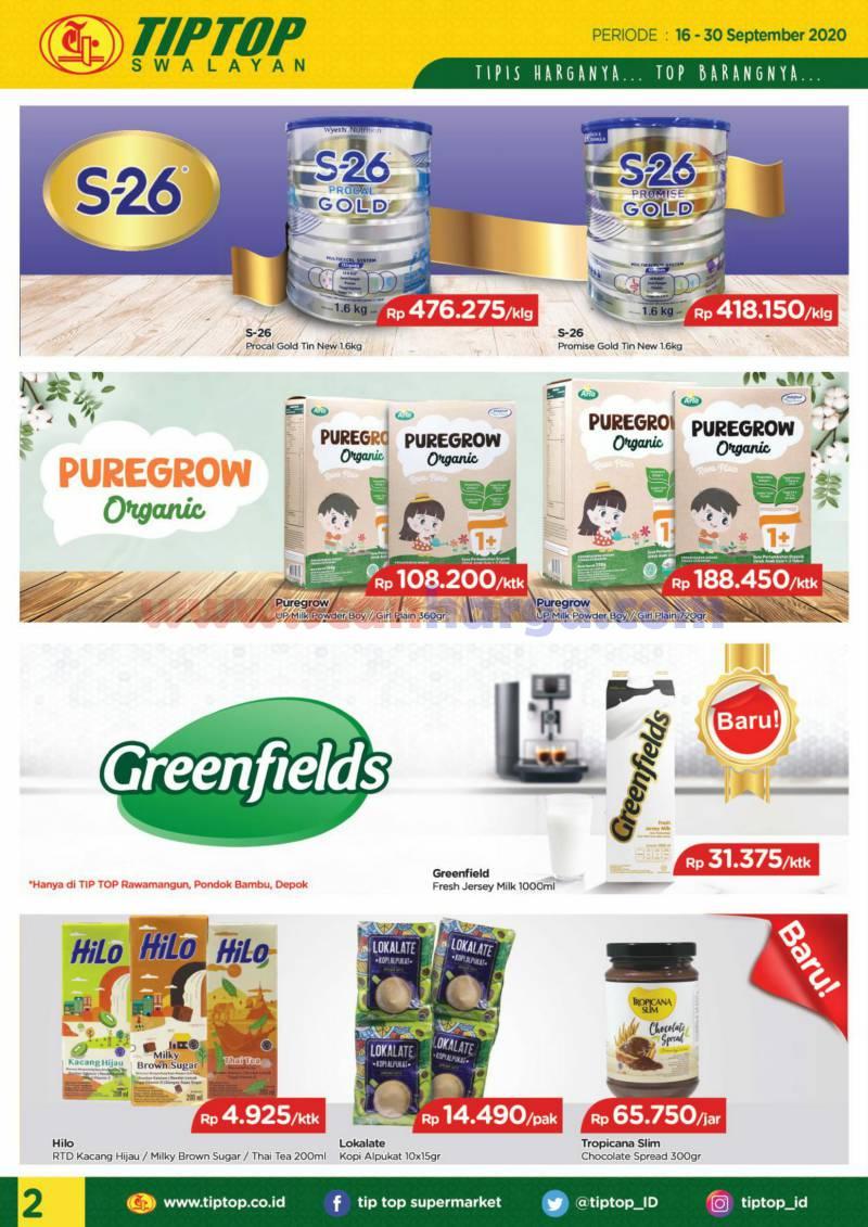 Katalog Tiptop Swalayan Promo 16 - 30 September 2020 2