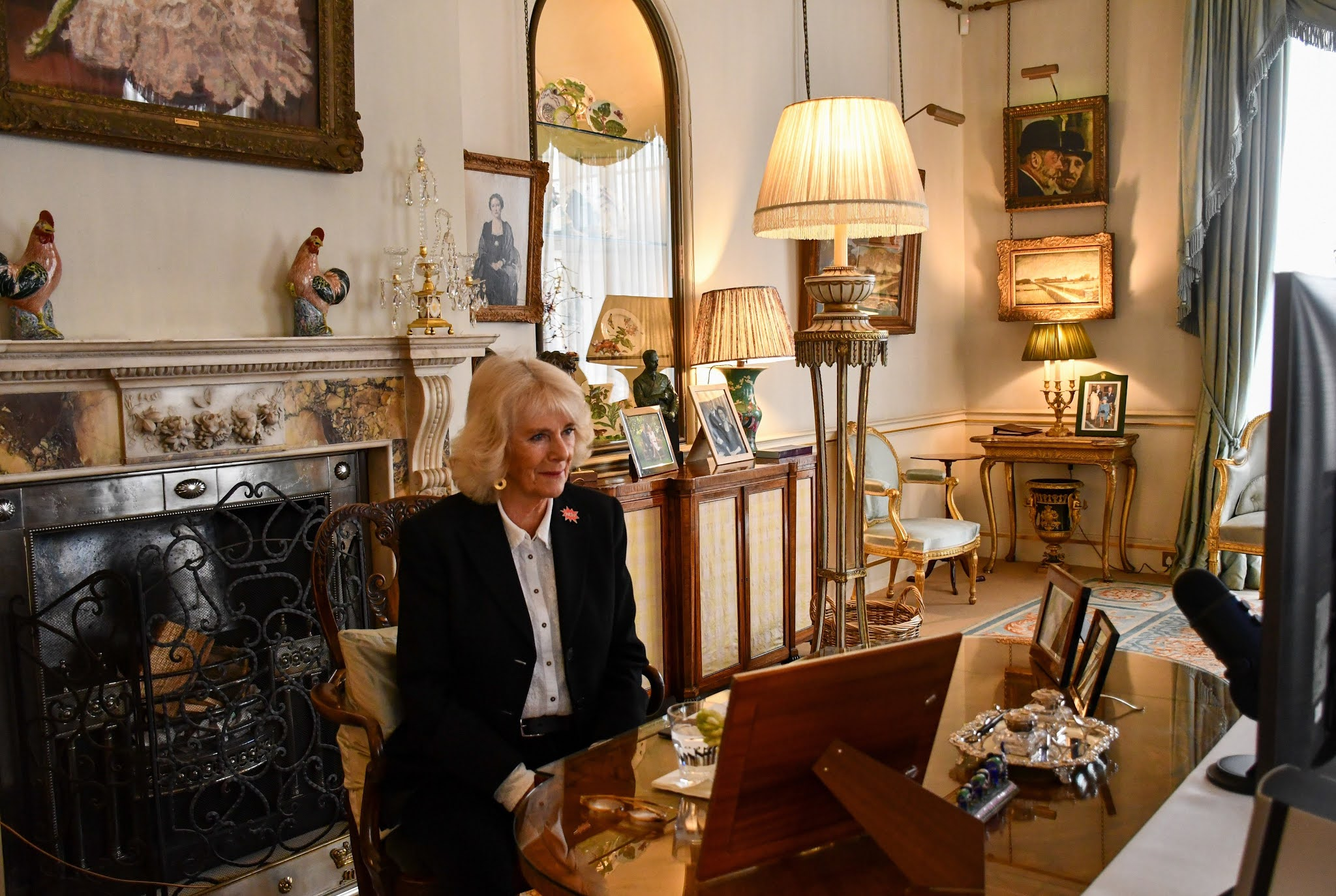 The Duchess of Cornwall marked International Women's Day with Women of the World