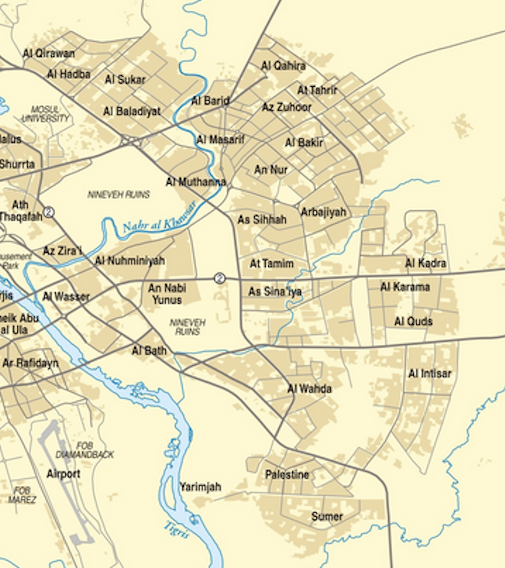 MUSINGS ON IRAQ Mosul Campaign Day 82 Jan 6 2017