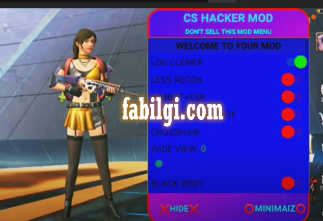 Pubg Lite Son Sürüm CS Hacker Menu Wallhack İndir Apk 2021