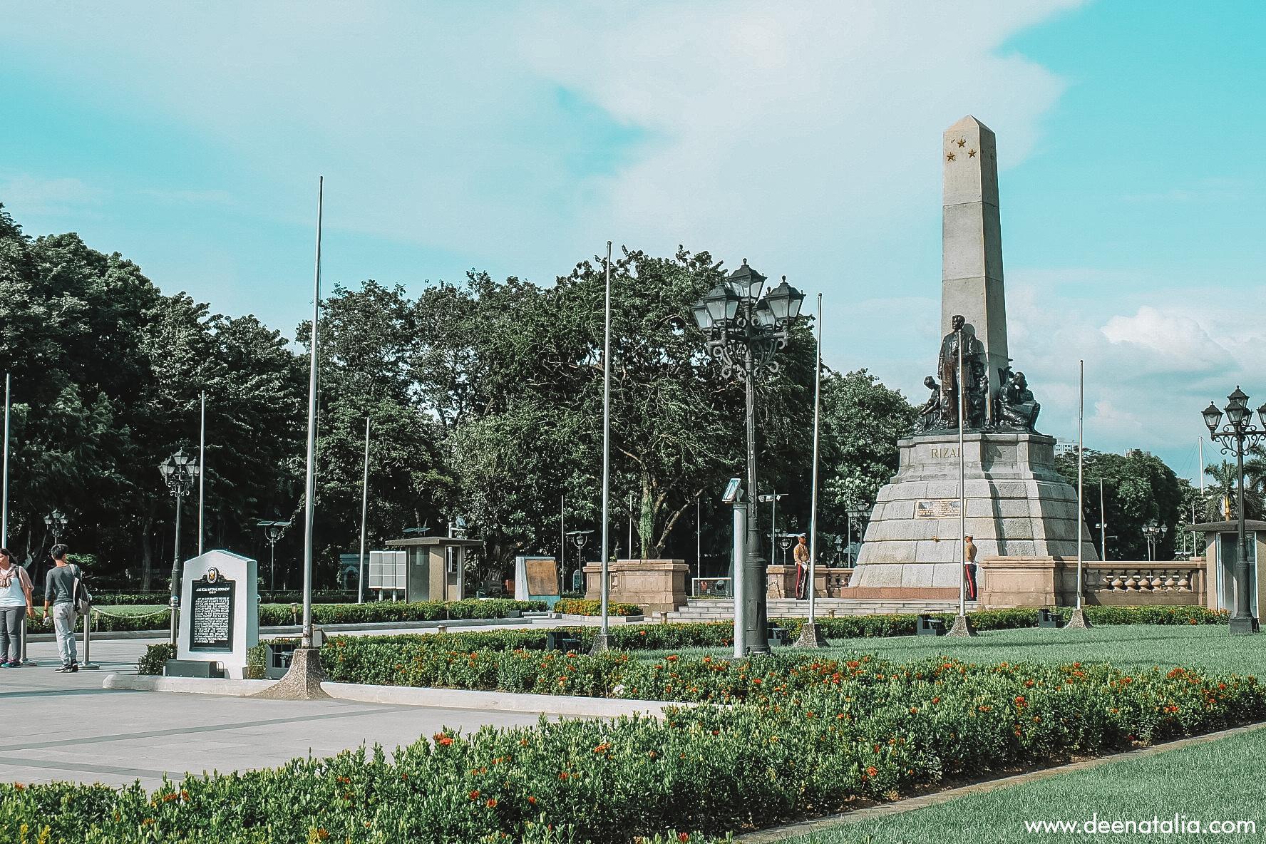 Monumen of Jose Rizal
