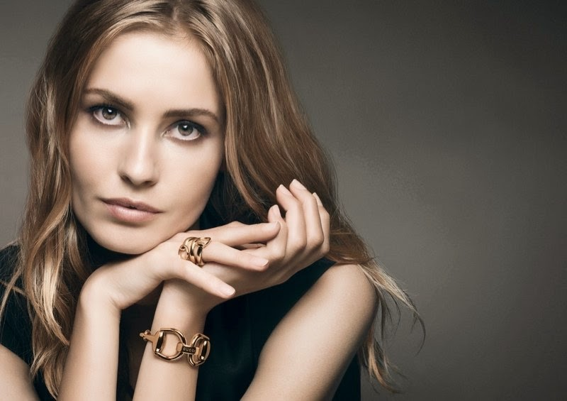 91679501f50 Gucci Watches and Jewellery Campaign 2014 featuring Nadja Bender