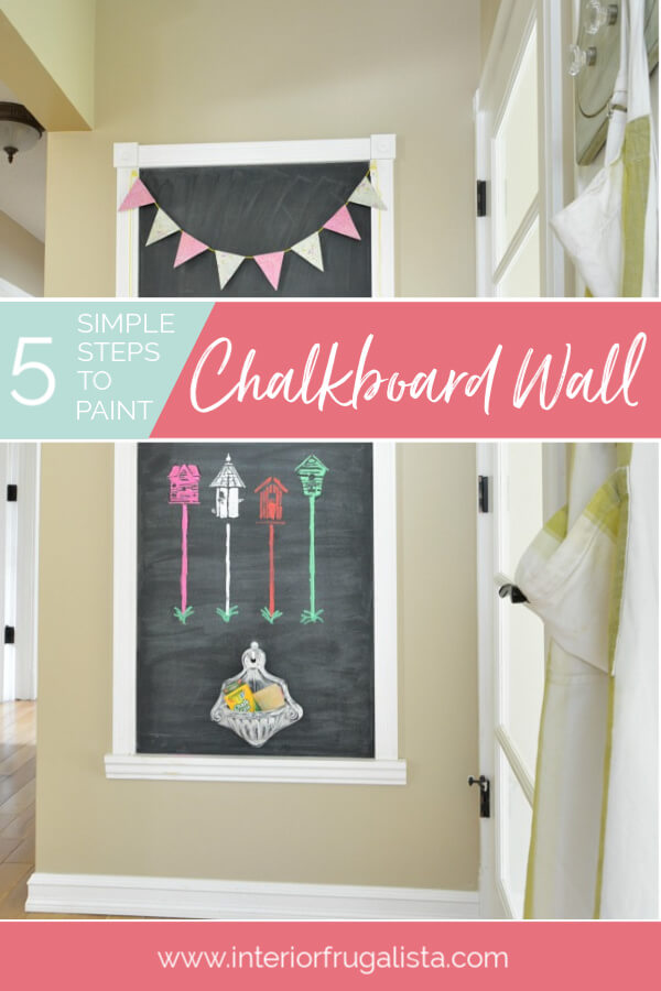 % Simple Steps To Paint A Fun Chalkboard Wall