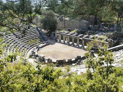 priene tiyatrosu