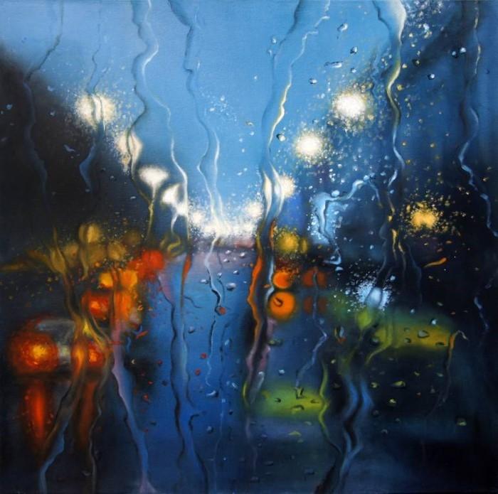 Искусство для меня - отражение души. Aziza Alaoui