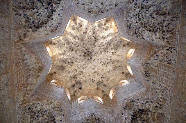 Alhambra Granada sufit