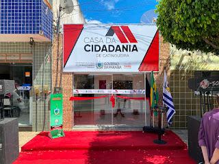 Prefeitura de Catingueira inaugura, em parceria com o Governo do Estado, Casa da Cidadania