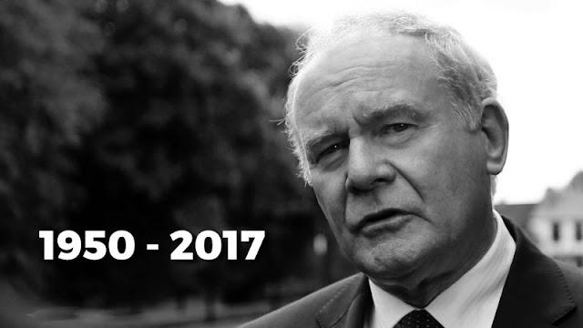 #Politics : Martin McGuinness,Northern Ireland's former deputy first minister, dies at 66