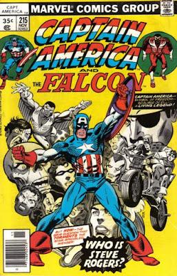Captain America and the Falcon #215