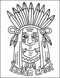 ausmalbilder zum ausdrucken: ausmalbilder indianer