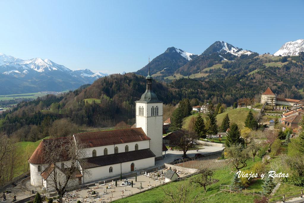 Iglesia Saint-Théodule, Gruyeres