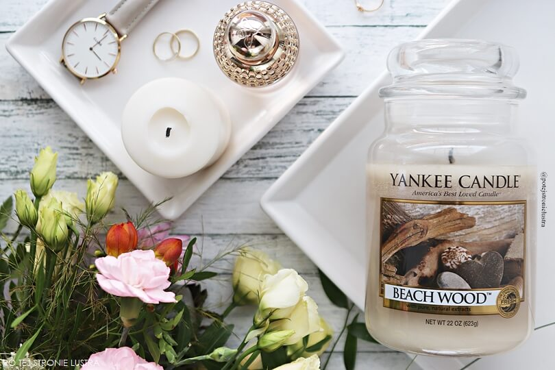 świece yankee candle beach wood