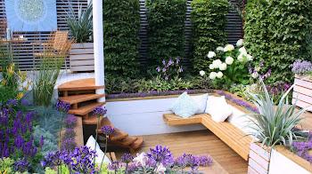 Los motivos para usar bancos de jardín