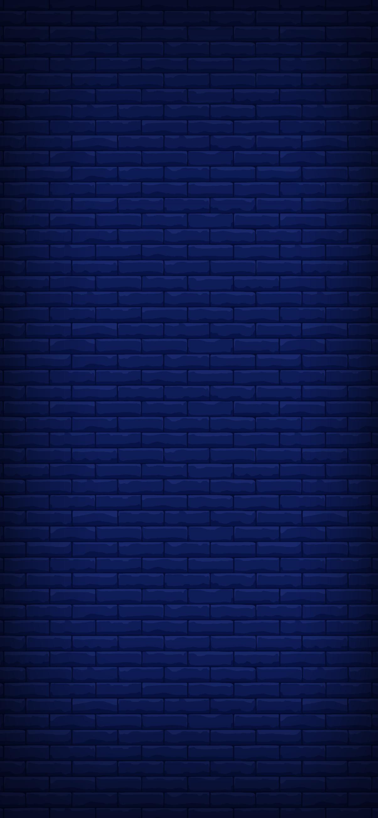 blue brick wallpaper for iphone dark simple clean