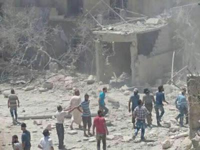 Rumah Sakit Bersalin di Provinsi Idlib Dibom