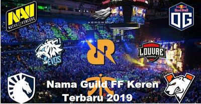 Nama Guild FF Keren terbaru 2019