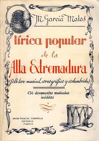 LÍRICA POPULAR DE LA ALTA EXTREMADURA