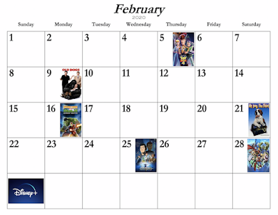 Disney+ New Releases for February 2020
