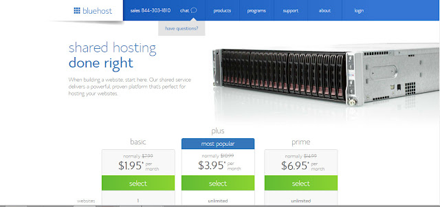 Bluehost Review for shared hosting plans