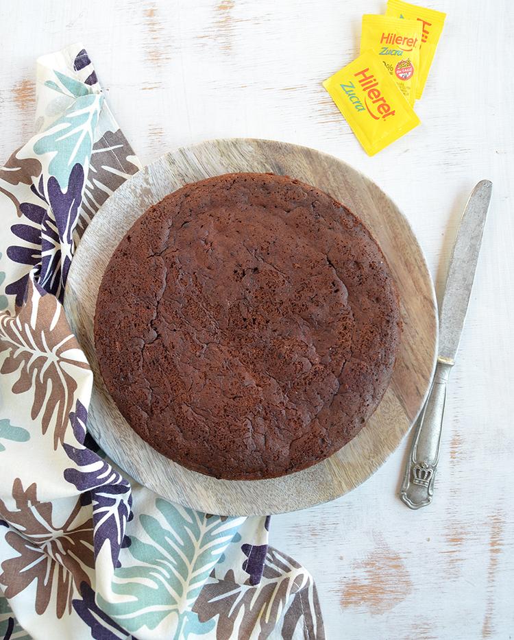 Torta de chocolate sin azúcar