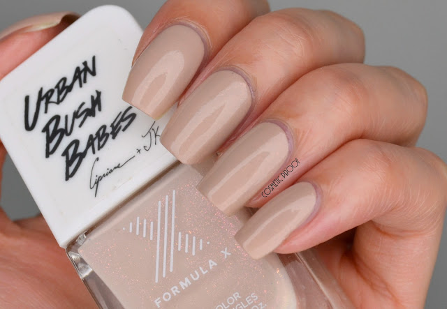 Formula X Urban Bush Babes Beige from our Books Swatch Review