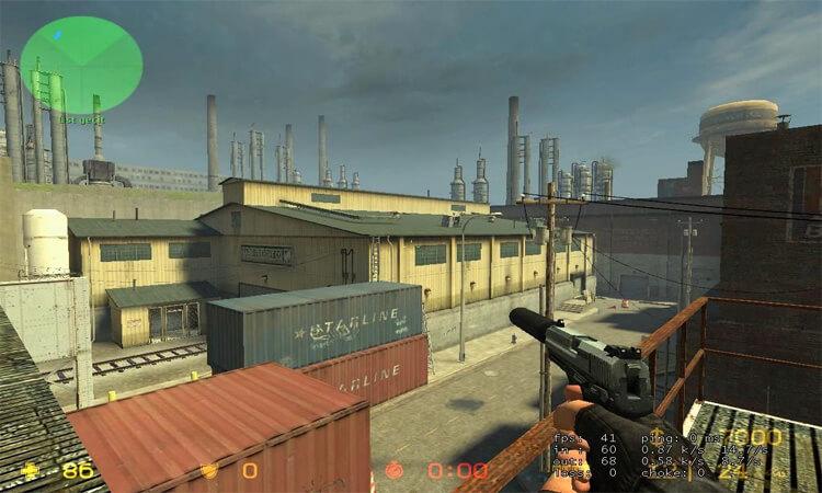 تحميل لعبة Counter Strike 1.8