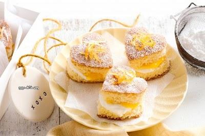 طريقة عمل براوني الليمون لعيد الحب