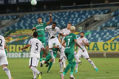 Com pênalti duvidoso e falha no sistema defensivo, Aparecidense perde de virada e esta eliminada da Copa Verde