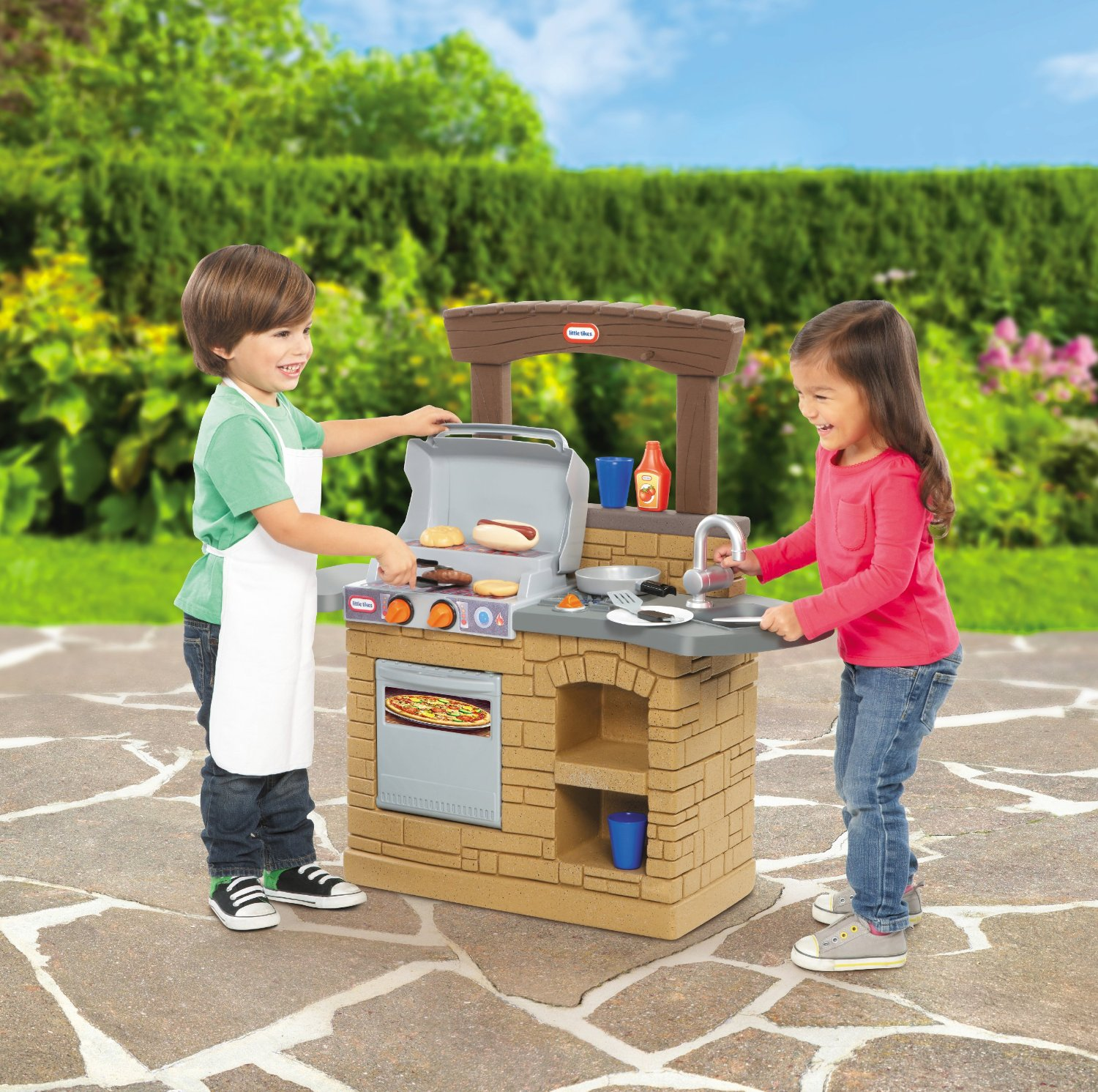 Little Tikes Cook U0027n Play Outdoor BBQ Kitchen For Toddlers