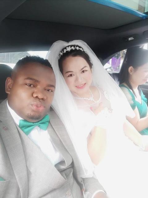 VIDEO: Amazing Celebration As Nigerian man weds his oyinbo lover
