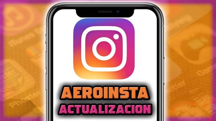 Nueva versión AeroInsta v16.0.2 disponible
