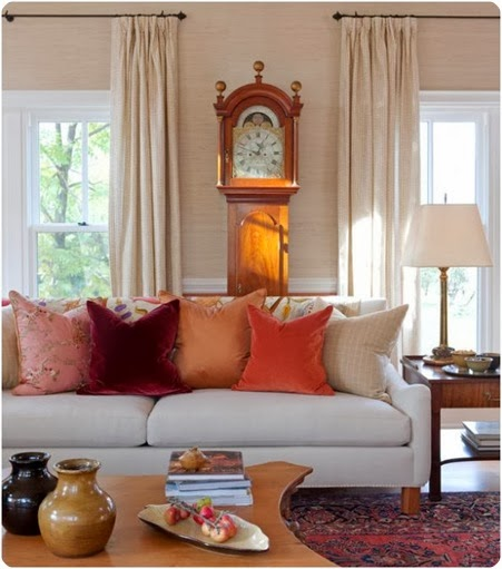 Living Room Ideas To Fall In Love With: Simple Details: Ikea Sanela...perfect Fall Pillow