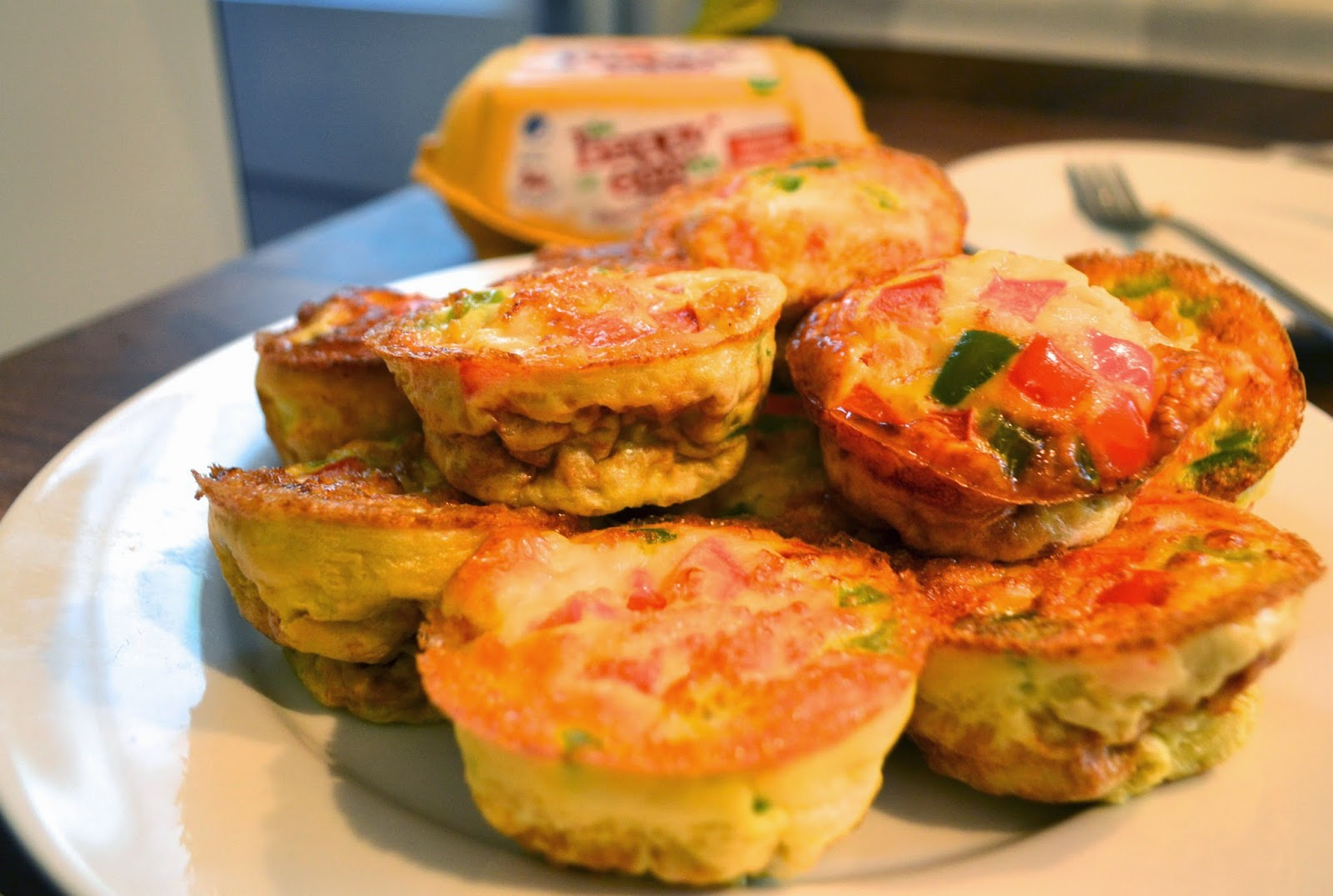 Recipe: Skinny Breakfast Omelette Muffins